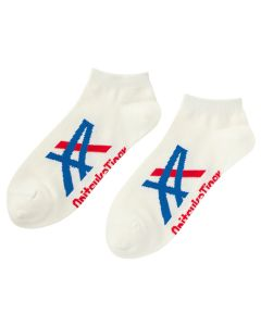 ONITSUKA TIGER Ankle Sock Unisex in Real White