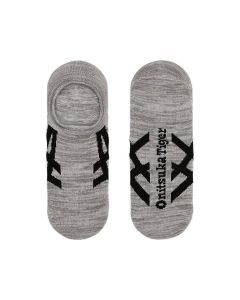 ONITSUKA TIGER Invisible Unisex Socks in Heather Grey/Black