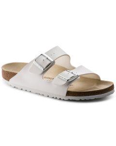 BIRKENSTOCK Arizona Birko-Flor Men's Regular Width Sandals in White