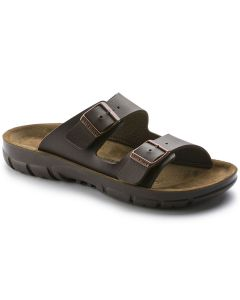 BIRKENSTOCK Bilbao Birko-Flor Unisex Regular Width Sandals in Brown