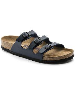 BIRKENSTOCK Florida Birko-Flor Soft Footbed Unisex Regular Width Sandals in Blue
