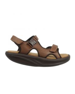 MBT KISUMU Men's Casual Sandal in Brown