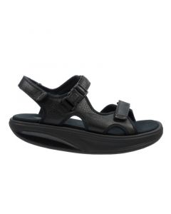 MBT KISUMU 3S Men's Casual Sandal in Black