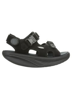 MBT KISUMU CLASSIC Women Casual Sandals in Black Nubuck