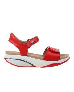 MBT MALIA Women's Casual Sandal in Red