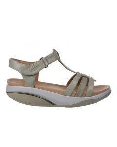 MBT RANI Women's Casual Sandal in Taupe
