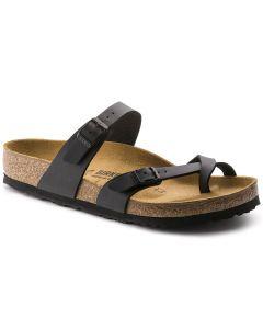 BIRKENSTOCK Mayari Birko-Flor Unisex Regular Width Sandals in Black