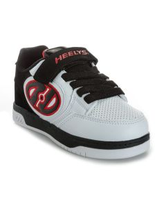 HEELYS Plus X2 Roller Sneaker in White/Red/Black