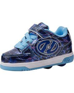 HEELYS Plus X2 Lighted Roller Sneaker in Blue