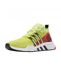ADIDAS ORIGINALS EQT Support Mid Adv Primeknit Men's Shoes in Glow/Core Black/Turbo