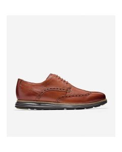 COLE HAAN ØriginalGrand Men's Wingtip Oxford in Woodbury-Java