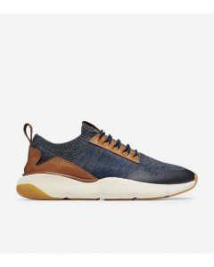 COLE HAAN ZERØGRAND Men's All-Day Trainer in Marine Blue Stitchlite