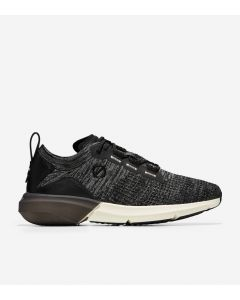 COLE HAAN ZERØGRAND Men's All-Day Runner in Black-Gunmetal Stitchlite™