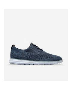 COLE HAAN ØriginalGrand Stitchlite Men's Wingtip Oxford in Navy Ink