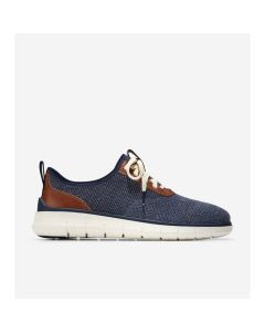 COLE HAAN Generation ZERØGRAND Men's Sneakers in Navy Blue Stitchlite™