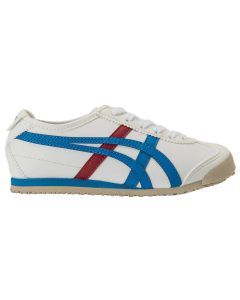 ONITSUKA TIGER Mexico 66 Kids Shoe in White/Mid Blue