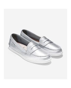 COLE HAAN Pinch Weekender Women's Loafer in Argento Metallic