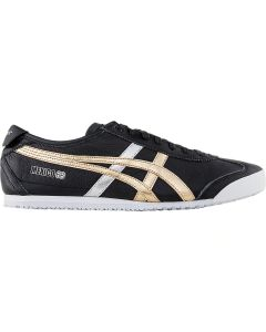 ONITSUKA TIGER Mexico 66 Unisex Shoe in Black/Gold