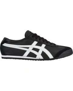 ONITSUKA TIGER Mexico 66 Unisex Shoe in Black/White