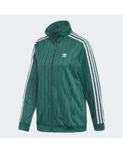 ADIDAS ORIGINALS Women's Track Jacket in Collegiate Green