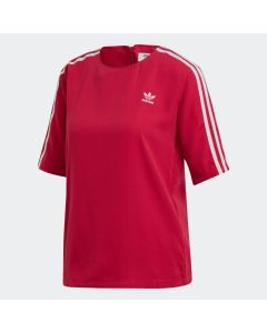 ADIDAS ORIGINALS 3-Stripes Women's Tee in Pride Pink