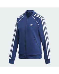 ADIDAS ORIGINALS SST Women's Track Jacket in Dark Blue