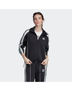 ADIDAS ORIGINALS Women's Floral Track Jacket in Black