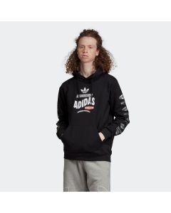 ADIDAS ORIGINALS Bodega Men's Hoodie in Black