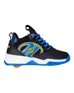 HEELYS Bandit Boys Roller Sneaker in Black/Blue/Saffron