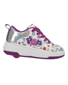 HEELYS Pop Strive Roller Sneaker in White