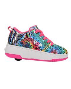 HEELYS Pop Strive Roller Sneaker in Pink