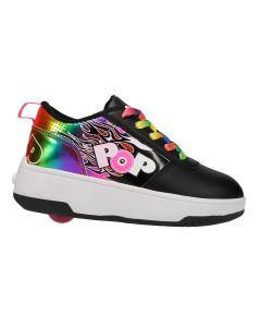 HEELYS Pop Dash Roller Sneaker in Black