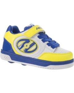 HEELYS Plus X2 Roller Sneaker in Yellow/White/Royal