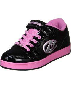 HEELYS Pulse 4.0 Roller Sneaker in Black/Pink