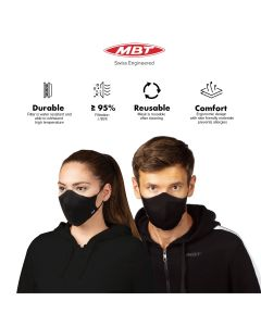 MBT 3D Sports Mask With Multi-Layer Filtration