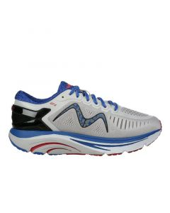 MBT GT 2 Men's Lace Up Running Shoe in Grey Blue