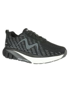 MBT MTR-1500 Men's Lace Up Running Shoe in Black