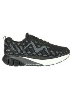 MBT MTR-1500 Men's Lace Up Running Shoe in Black