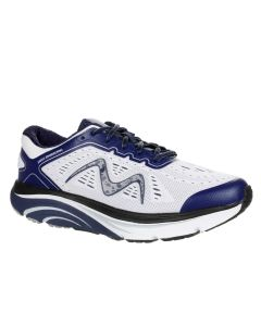 MBT M-2000 Men's Lace Up Running Shoe in Navy/White