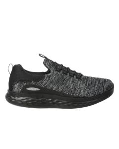 MBT PISA Men's Slip On Fitness Walking Shoe in Black