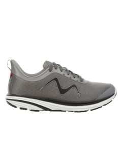 MBT SPEED-1200 Men's Lace Up Running Shoe in Grey