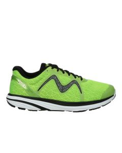 MBT SPEED 2 Men's Lace Up Running Shoe in Lime Green