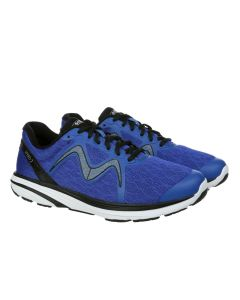 MBT SPEED 2 Men's Lace Up Running Shoe in Royal Blue Black