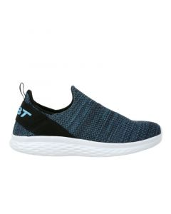 MBT ROME-100 Air Mesh Men's Slip On Fitness Walking Shoe in Blue