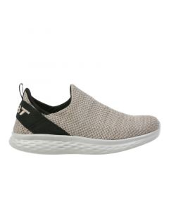 MBT ROME-100 Air Mesh Men's Slip On Fitness Walking Shoe in Taupe