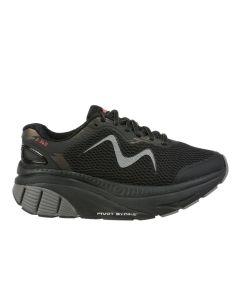 MBT Z 360 Men's Lace Up Running Shoe in Black
