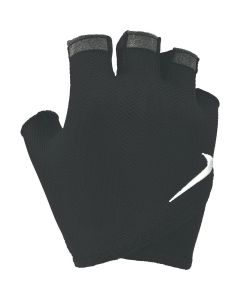 NIKE Women's Gym Essential Fitness Gloves in Black/White