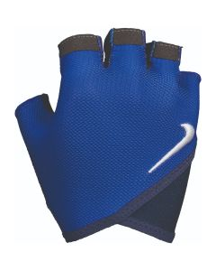 NIKE Women's Gym Essential Fitness Gloves in Game Royal/Midnight Navy/White