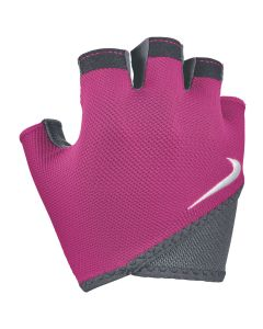 NIKE Women's Gym Essential Fitness Gloves in Rush Pink/Anthracite/White