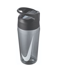 NIKE TR Hypercharge Straw Bottle 16oz in Anthracite/White